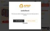 screenshot https://www.apbp.fr/ www.apbp.fr