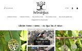 screenshot https://www.arbrobijoux.com Arbrobijoux, boutique de bijoux et accessoires nature en bois