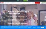 screenshot https://www.arkeaassistance.fr ARKEA ASSISTANCE