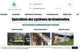 screenshot https://www.brumisol.com Location de Brumisateur