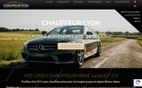 screenshot https://www.chauffeurlyon.com/ VTC Lyon