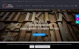 screenshot https://www.cliches-bard.com Clichés flexographiques et création graphique