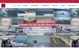 screenshot https://www.comptoir-surf.fr comptoir du surf est un surf shop en ligne Français, pour les surfeurs