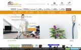 screenshot https://www.domaspi.com Vente en ligne de centrale et matériels d'aspiration centralisée