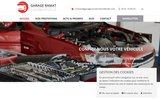 screenshot https://www.garageramatchevrefeuille.com/ garage mécanique auto toutes marques à Toulouse 31300