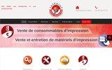 screenshot https://www.integral-info.com/ cartouche compatible à Toulouse