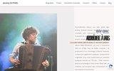 screenshot https://www.jeremy-dutheil.fr Accordéoniste jazz manouche à Paris