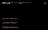 screenshot https://www.mega-hertz.fr/ instruments de sonorisation