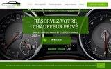 screenshot https://www.mon-chauffeur-prive.paris/ Mon Chauffeur Privé Paris