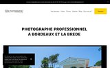 screenshot https://www.mon-photographe-corporate.fr/ portrait LinkedIn à Bordeaux