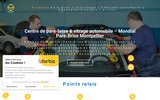 screenshot https://www.pare-brise-montpellier.fr/ Mondial Pare-Brise à Montpellier