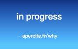 screenshot https://www.romainperoua.com Sites internet et réseaux sociaux à Pau