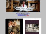 Sculpture, terres cuites d art, bustes, statues, anges, enfant, modelage, reproduction