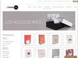 Fabricant d'emballages de luxe proposant un large choix de de pochettes  de luxe. Qualité fsc. Commandez en ligne.