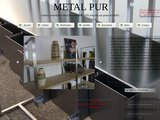 Création de mobilier en métal industriel,en acier,en inox,en aluminium et bois massif .