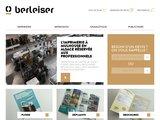 Détails : Berleiser, l'imprimerie centrale à Mulhouse en Alsace