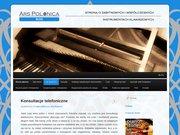 Ars Polonica - strona o instrumentach muzycznych