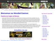 1 Mondial casinos et poker en ligne