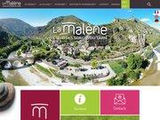 Le village de La Malène