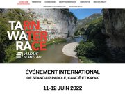 Tarn water Race tawara festival des sports aquatiques au coeur des Gorges du Tarn