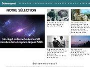 Détails : SciencePost - Sciences, d'écouvertes, innovations