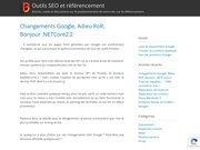 Détails : Positeo - Vérifier les positions sur Google