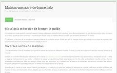 image du site http://matelas-memoire-de-forme.info/