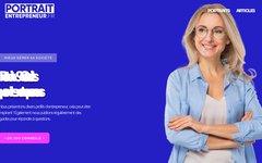 image du site http://www.portrait-entrepreneur.fr/