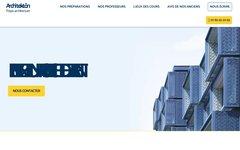 image du site http://www.prepa-architecture.fr