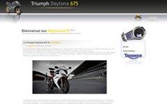 Détails : Triumph Daytona 675 - La meilleure moto de sa catégorie.