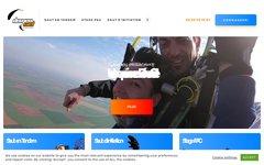 Détails : DemenCiel - Sauts parachute en tandem, formation PAC et OA, sauts découverte, bons cadeaux