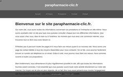 Détails : Parapharmacie en ligne