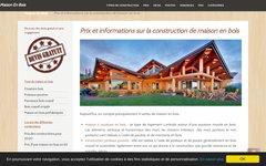 Détails : Maison en bois