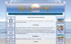 Glossary of ocean term