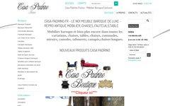 Détails : Casa Padrino.fr - meuble baroque de luxe, chaises, fauteuils, tables, commodes