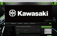 Magasin vendant des motos Kawasaki neuves, Nord 59