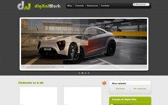Digital Work - un site de tutoriels gratuit pour apprendre (Blender, CSS, xHTML, MySQL, PHP, jQuery...)