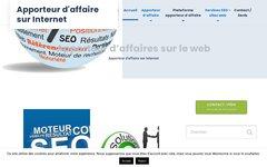 Apporteur d'affaires par web : un service interactif b2b