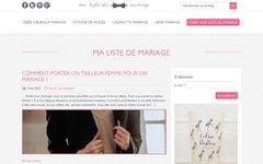 Détails : Créez et gérez votre liste de mariage en ligne