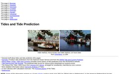 Tides and Tide Prediction