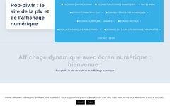 Détails :  POP-PLV.FR : le site de la plv numérique