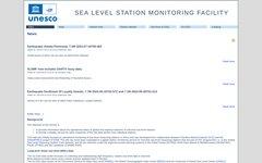 Sea level data facility
