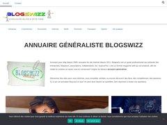 Aperçu du site Blogswizz.fr