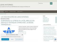 Aperçu du site Liens-internes.com
