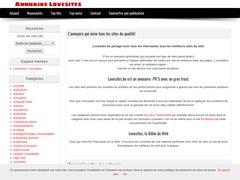 annuaire automatique Lovesites.eu