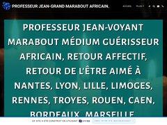 PROFESSEUR JEAN-GRAND MARABOUT AFRICAIN GUERISSEUR.