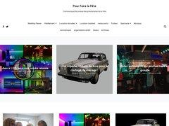 Détails : site de communiqués de presse de l'événementiel et des artistes
