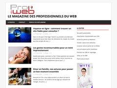 Aperçu du site Produweb.ch