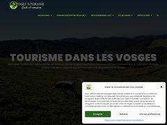 Aperçu du site Vosges-tourisme.net