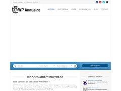 Aperçu du site Wpannuaire.com